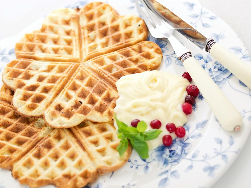 как приготовить крем для вафель венских