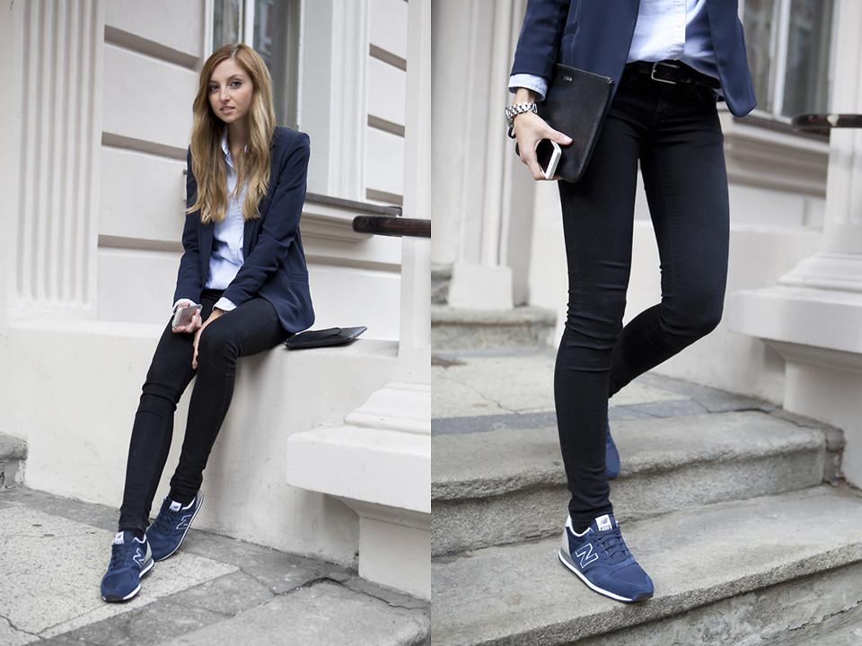 Кроссовки с  образ фото