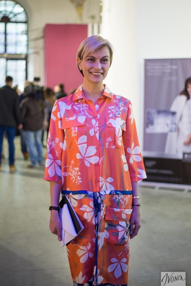Главный редактор Vogue Ukraine Мария Цуканова