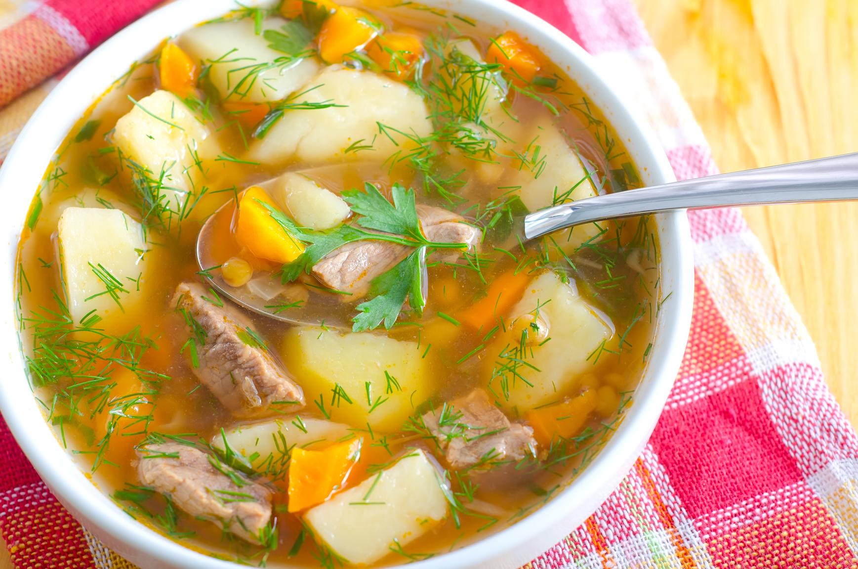 рецепты разных и простых супов