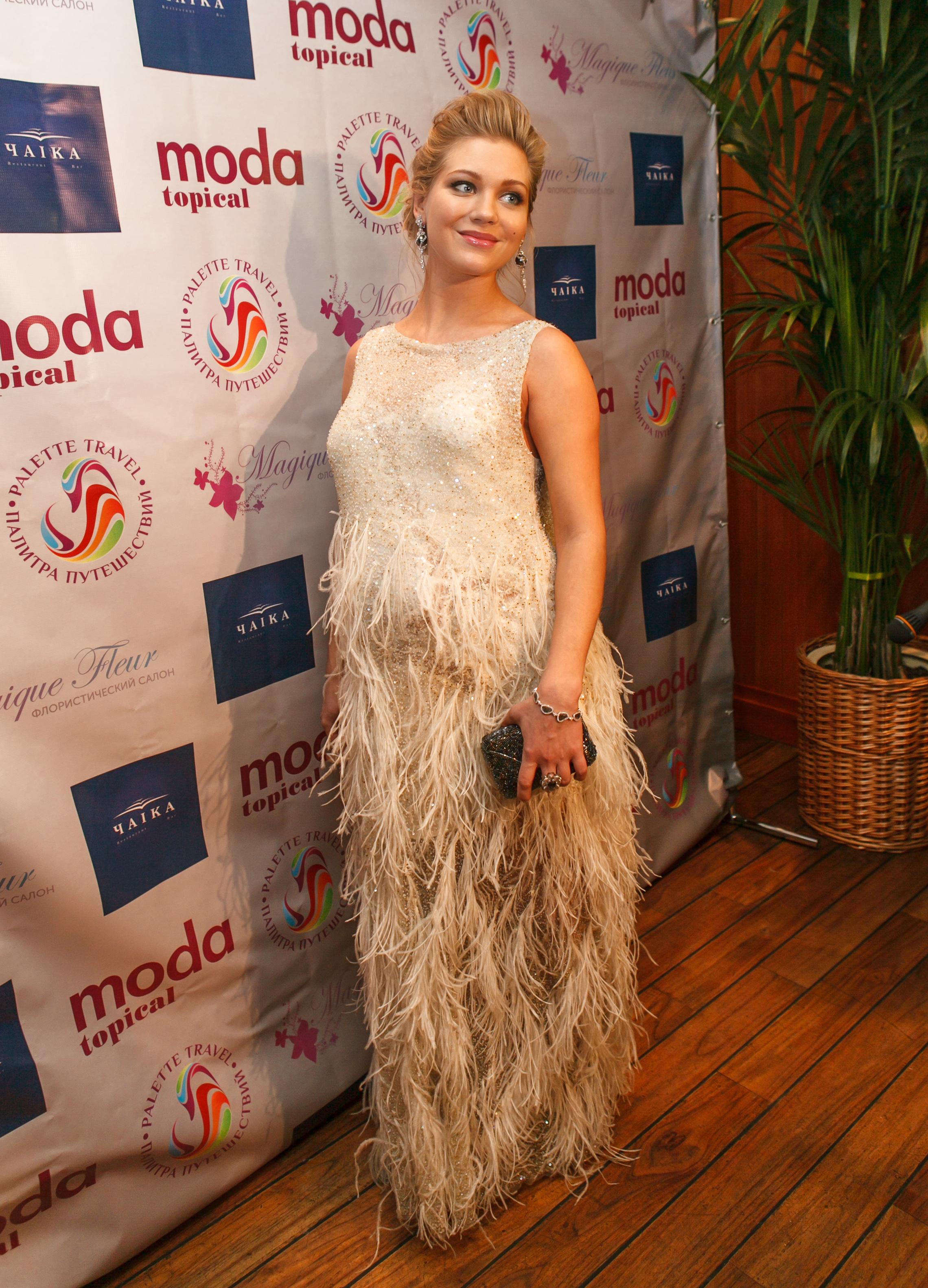 Актриса Кристина Асмус на церемонии Прорыв Года-2013