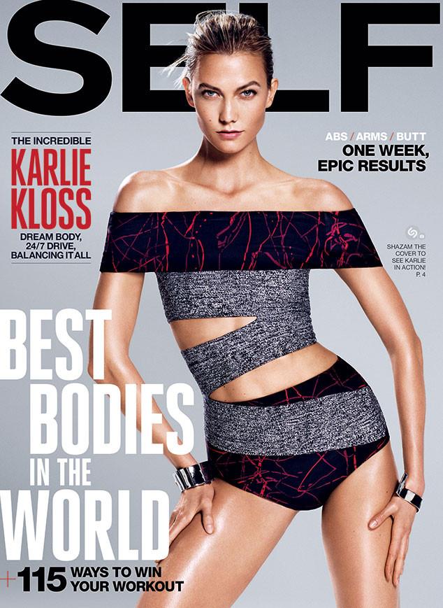 Модель Карли Клосс для журнала Self
