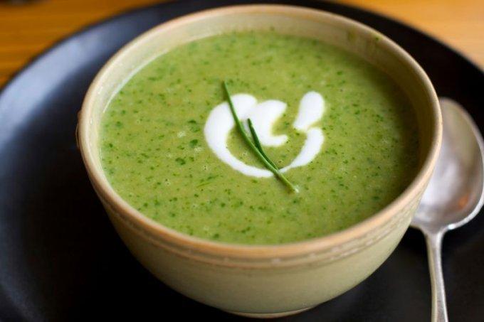 крем-суп из одуванчика