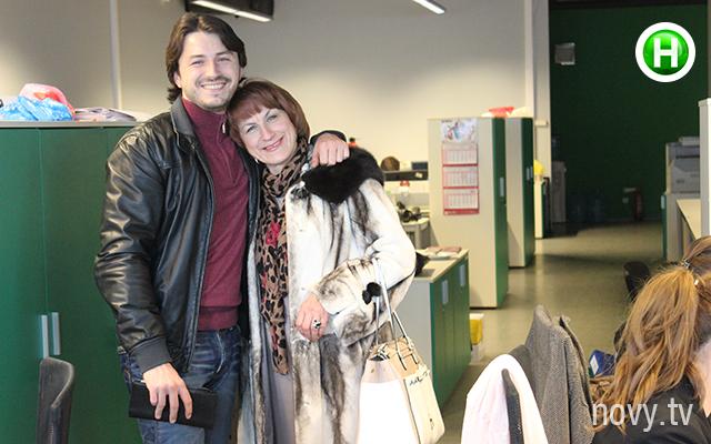 Сергей Притула с мамой