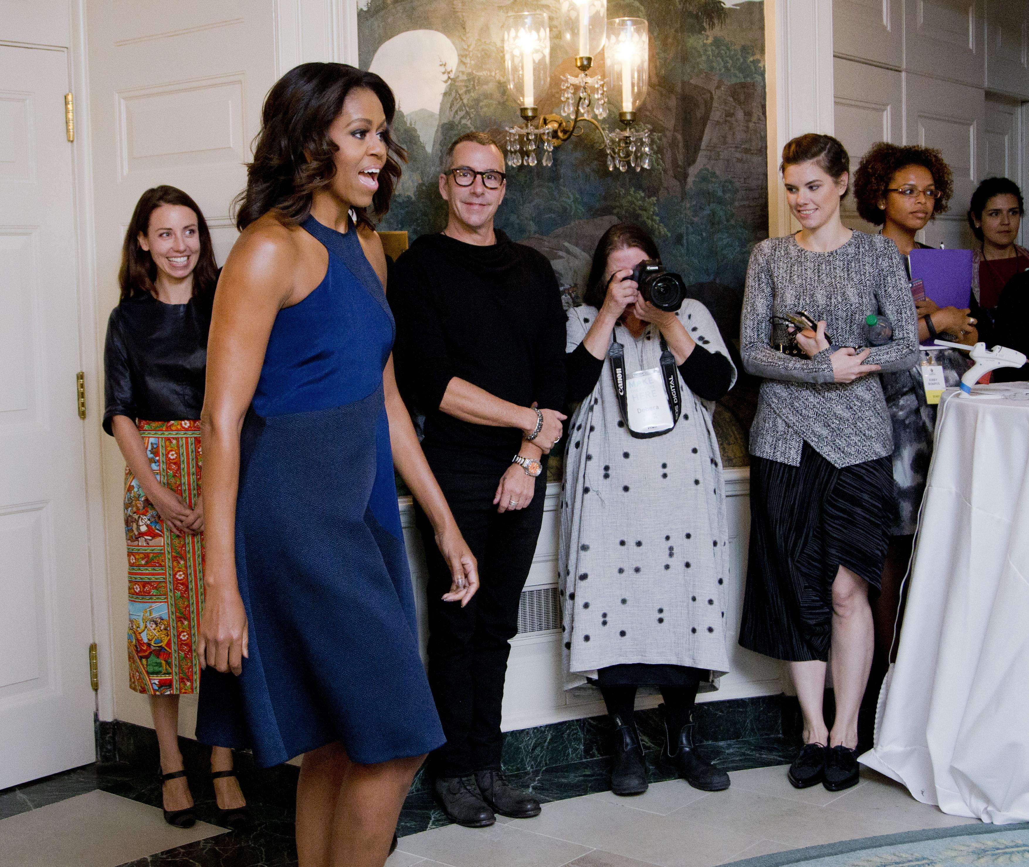 Первая леди США Мишель Обама признала талант украинки