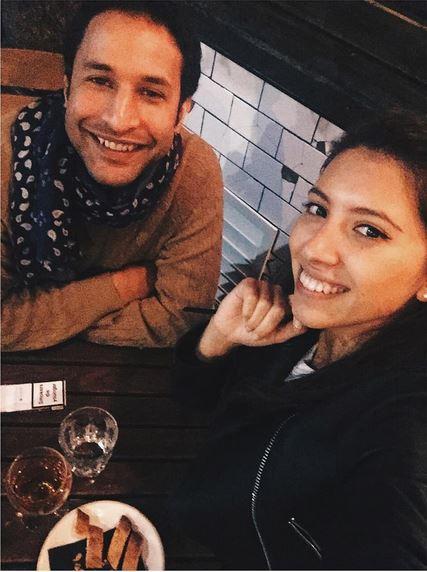 Инга со своим женихом Нури