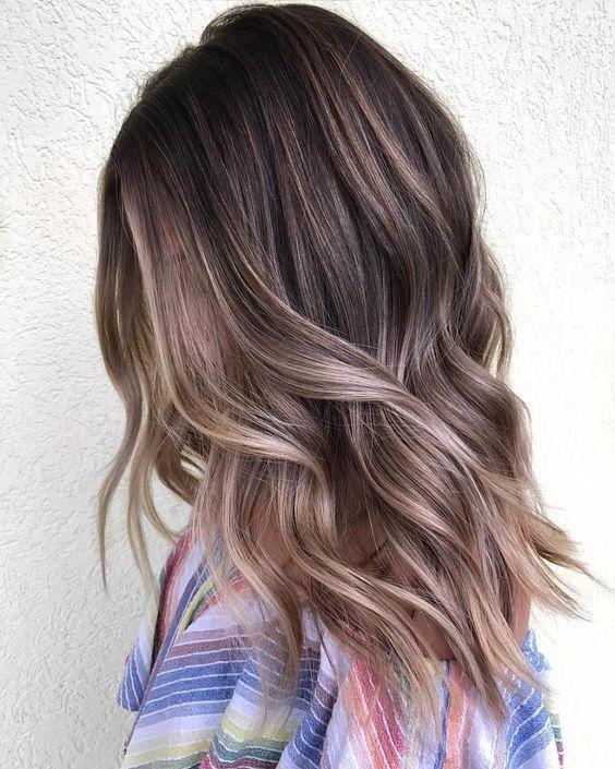 Модные окрашивания для волос на весну 2019 года: ТОП-3
