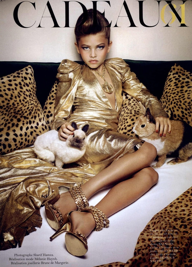 10-летняя модель стала сенсацией в мире моды.