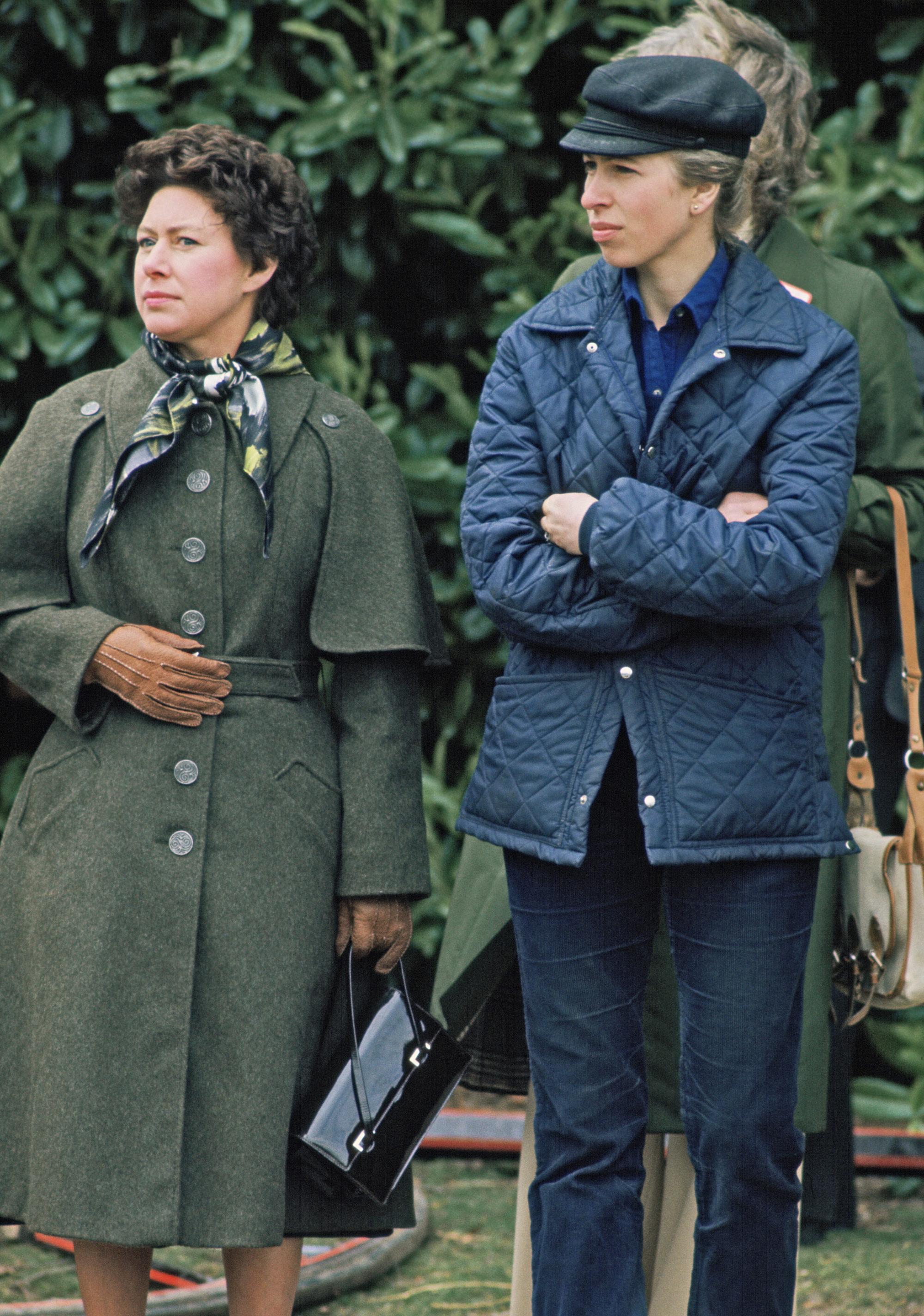 Принцессы Маргарет и Анна