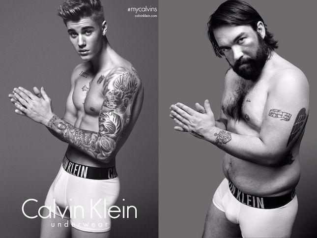 Обычные мужчины примерили белье от Calvin Klein