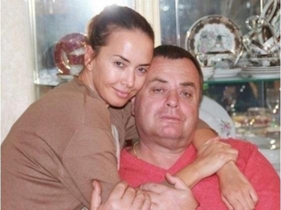 Жанна Фриске с папой
