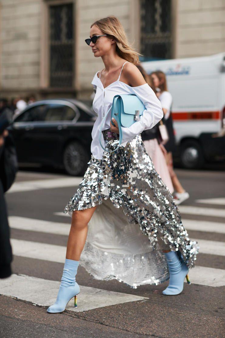 ТОП-10 трендов уличной моды 2019 года: Серебро