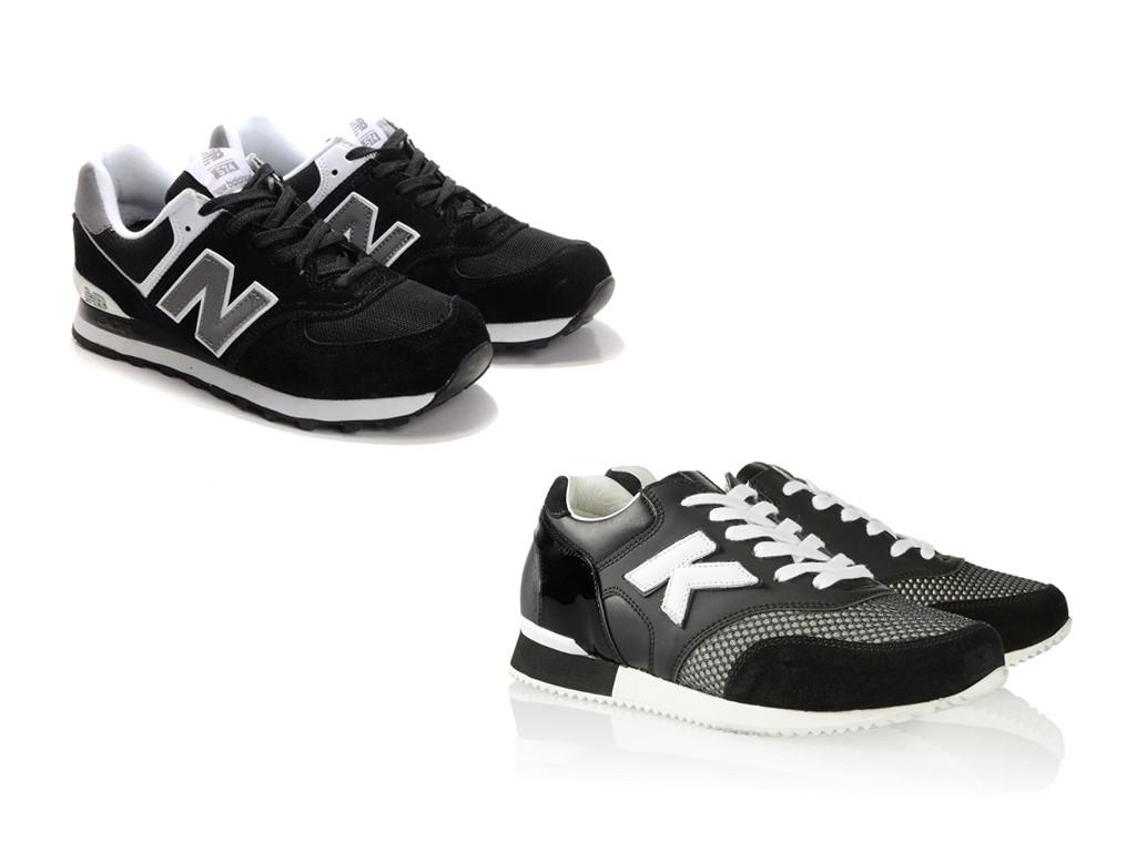 Кроссовки New Balance (вверху) и Chanel (внизу)