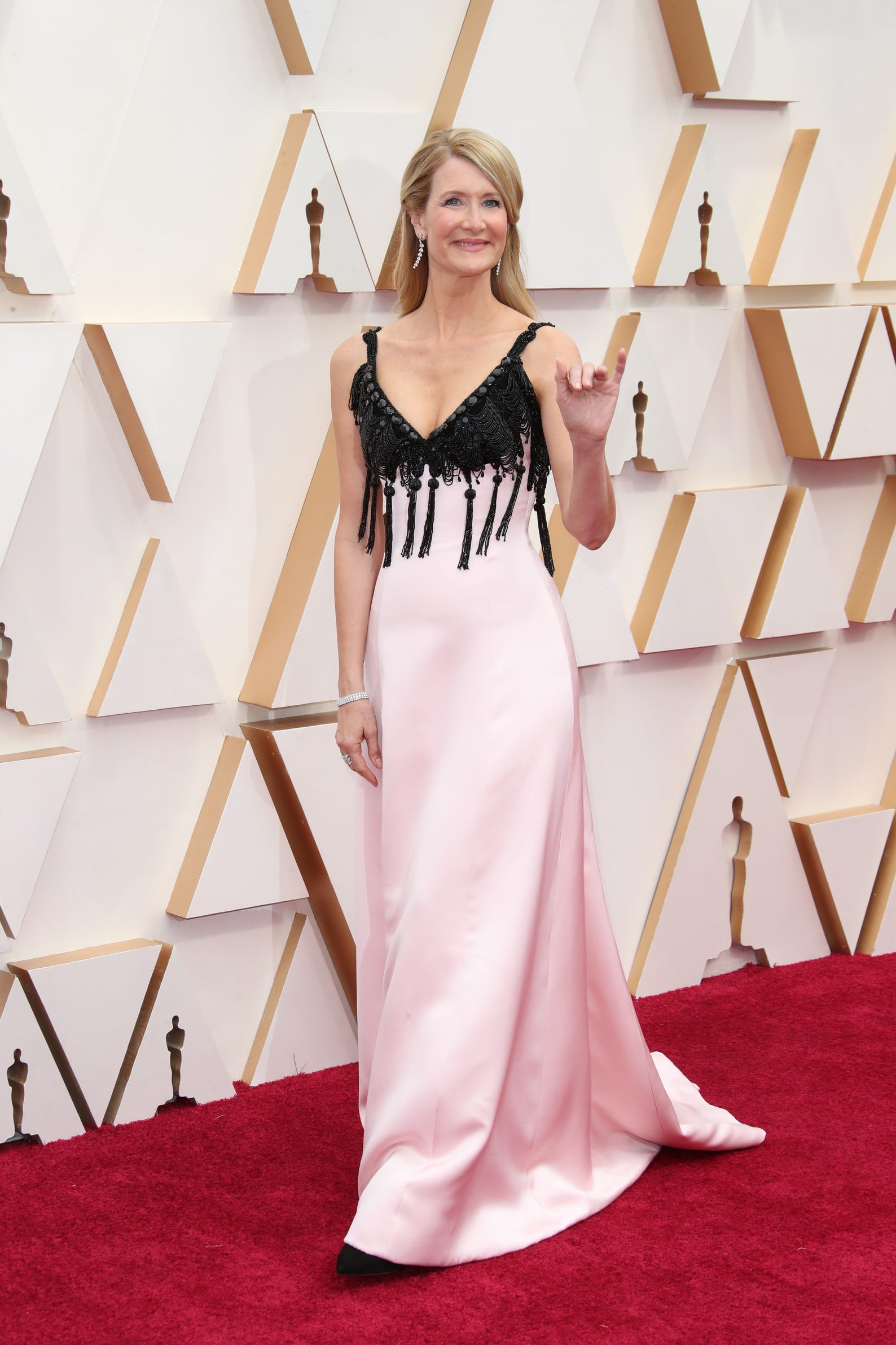 Лора Дерн в Armani Prive на Оскаре 2020