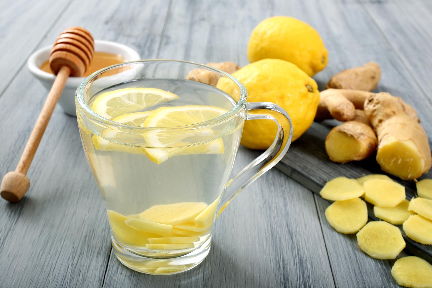 Вода с лимоном натощак для похудения рецепт