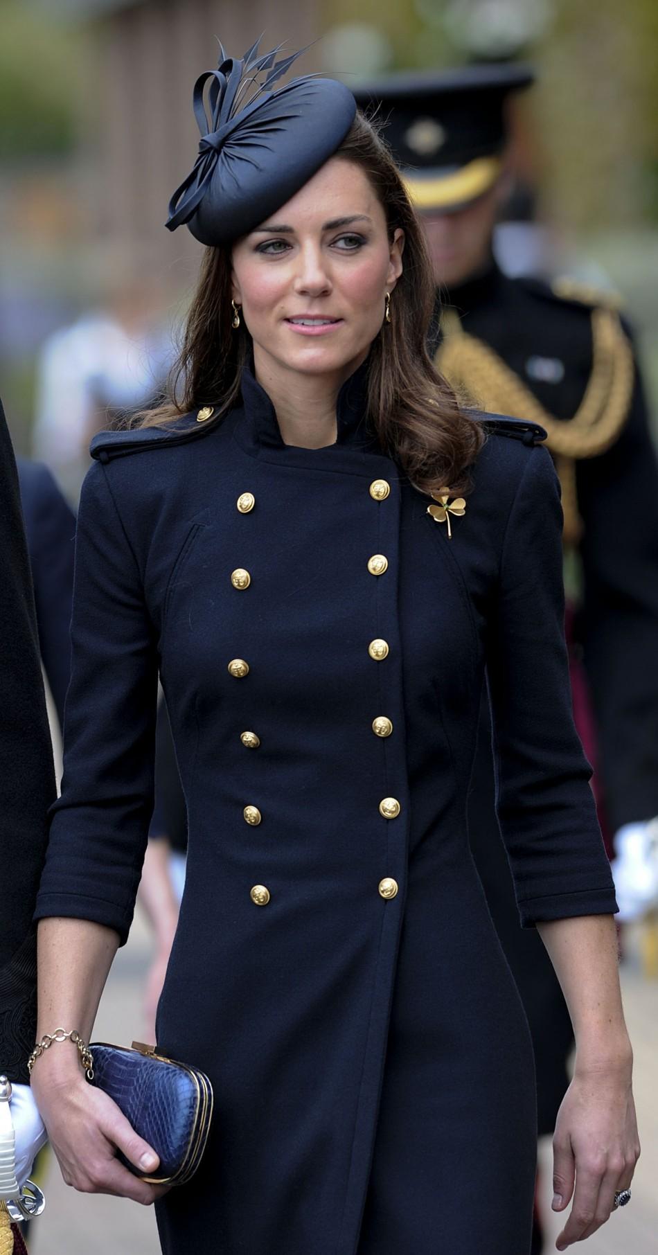 Кейт Миддлтон – королева пальто