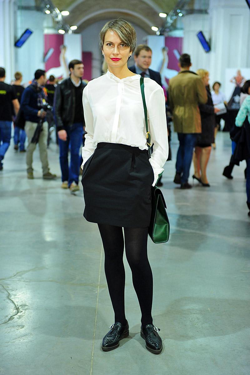 Главный редактор Vogue Ukraine Маша Цуканова