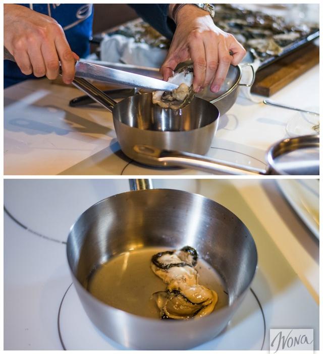 Приготовление устриц