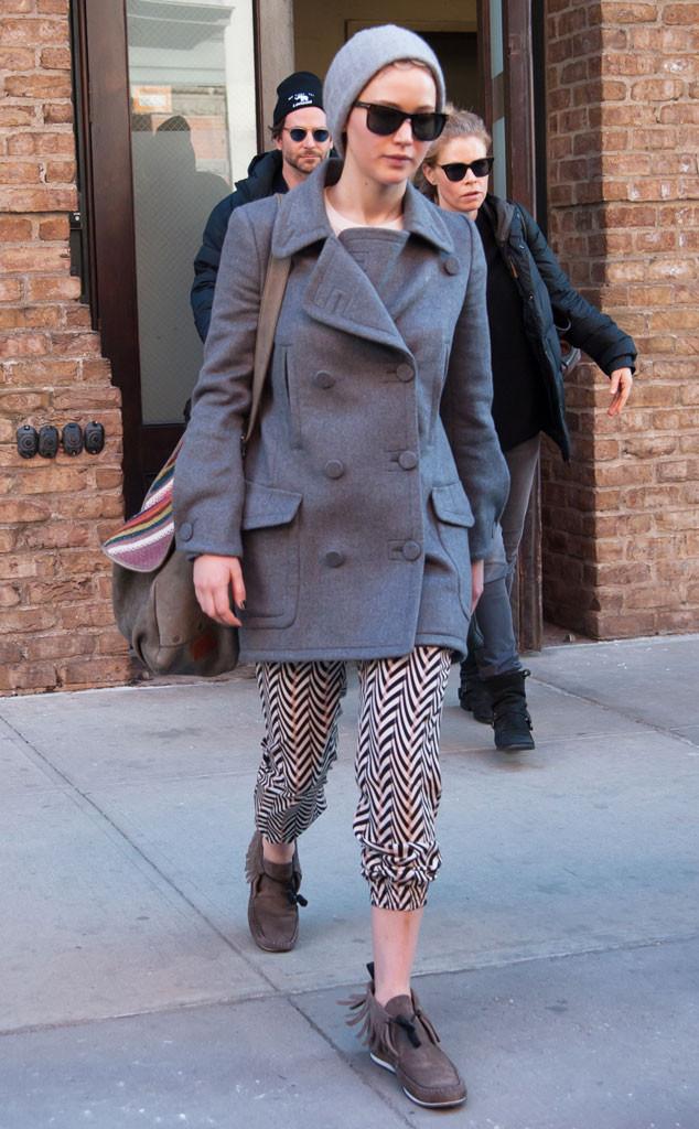 Актриса Дженнифер Лоуренс не считает моветоном появляться на людях в одном и том же образе