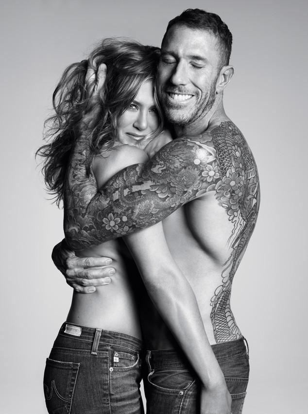 Актриса Дженнифер Энистон и стилист Крис МакМиллан в объективе fashion-фотографа Майкла Томпсона