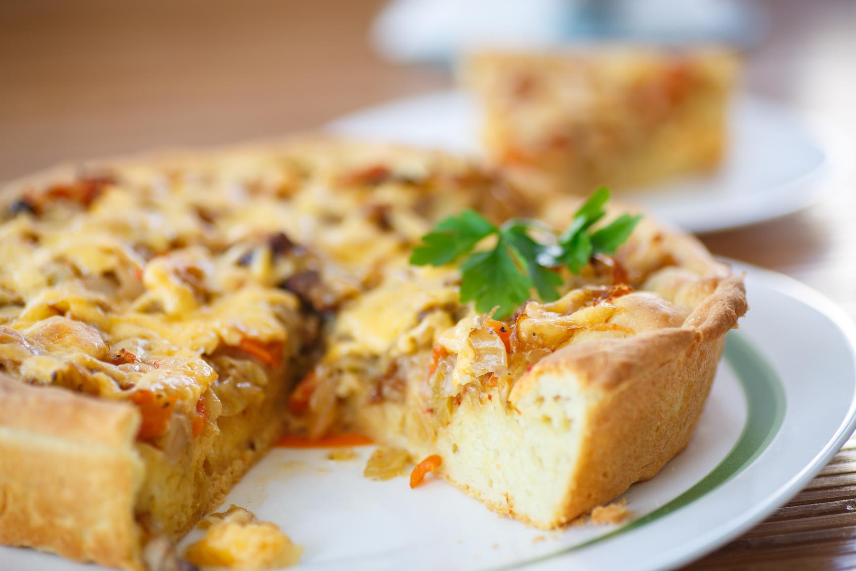 Пироги с капустой и яйцом в духовке быстро пошаговый рецепт с фото