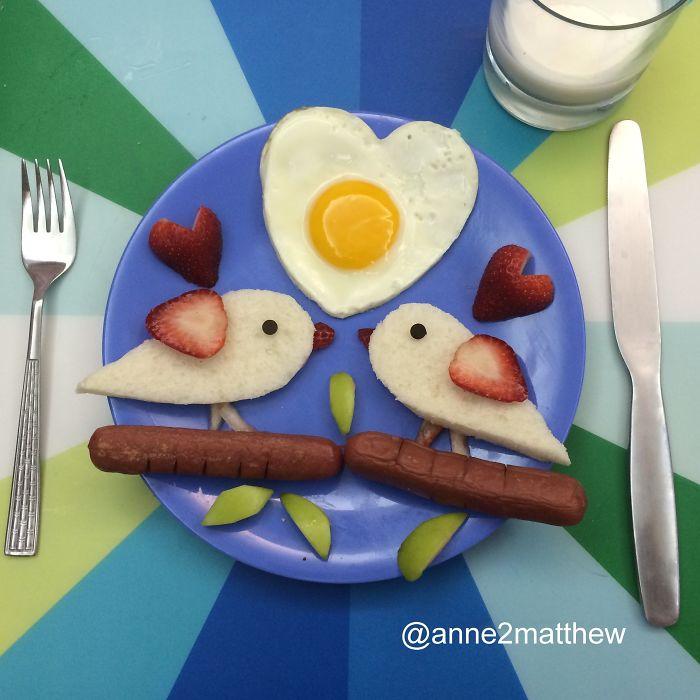Интересные идеи для завтрака детский фото