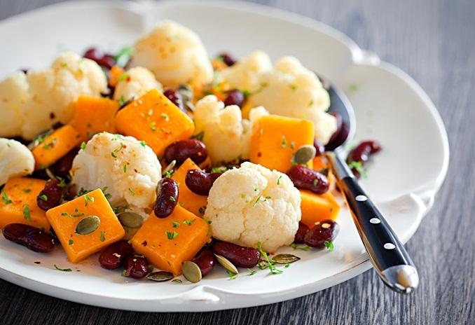 рецепты салатов с цветной фасолью