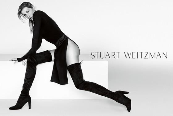 Бразильская модель Жизель Бундхен умеет рекламировать обувь