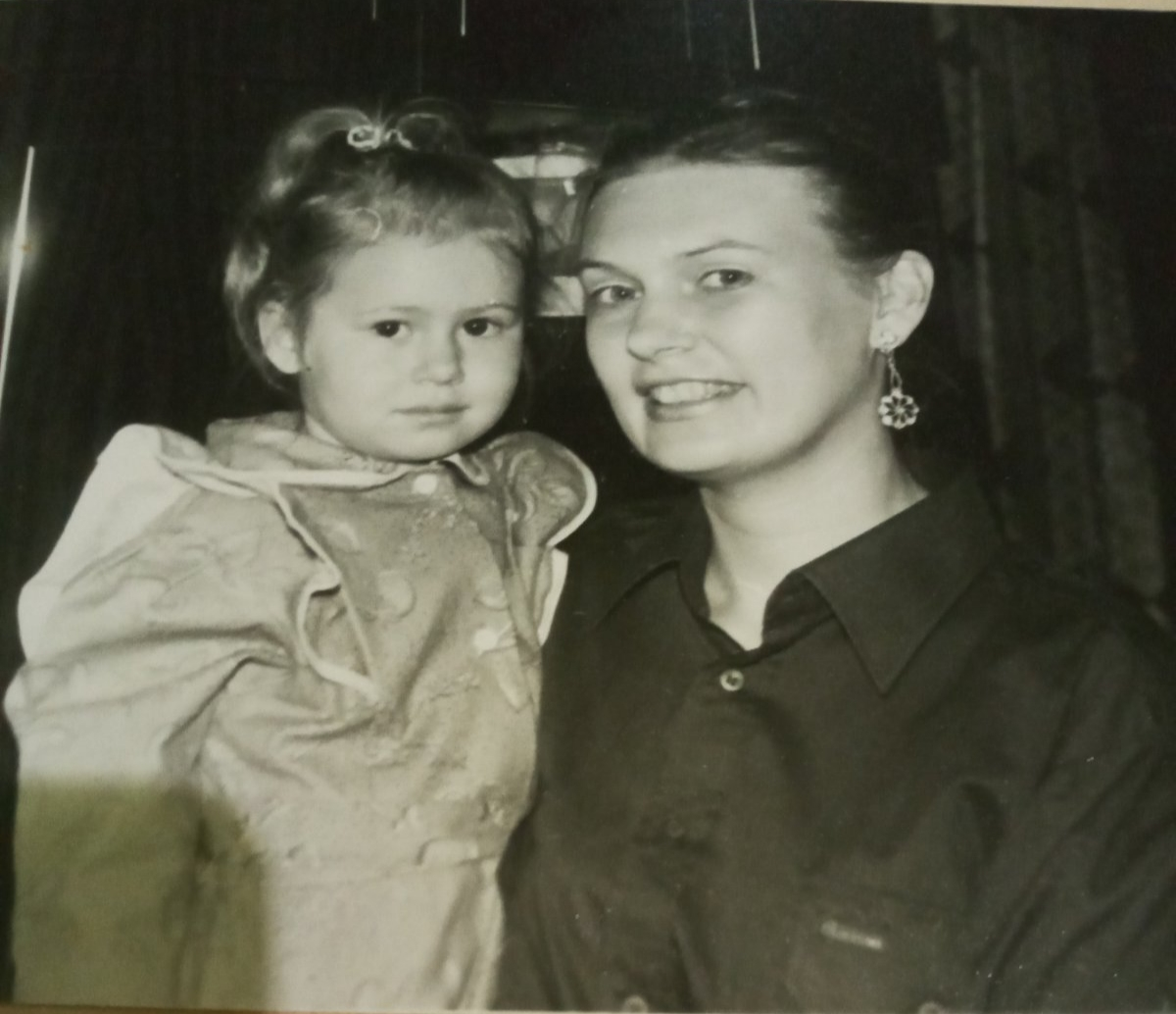 Ксения Бреславская с мамой