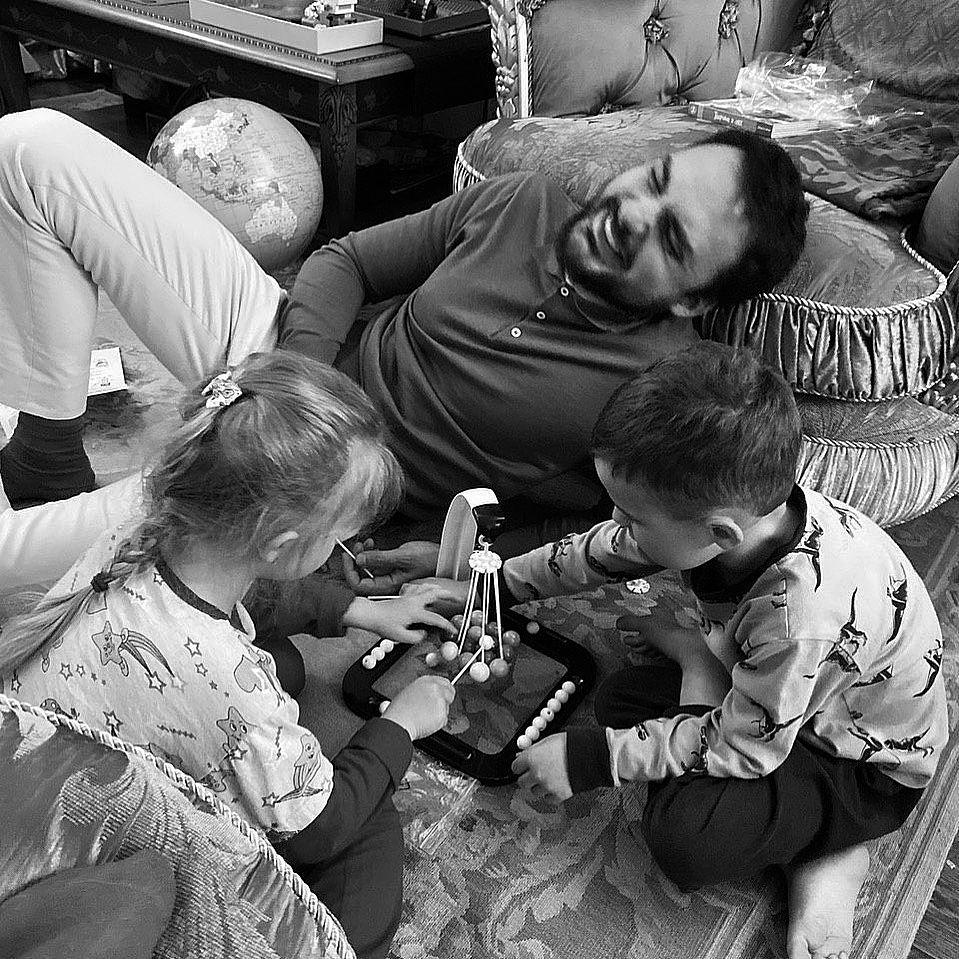 Слава снимала: Эдгар Каминский показал трогательное фото с детьми