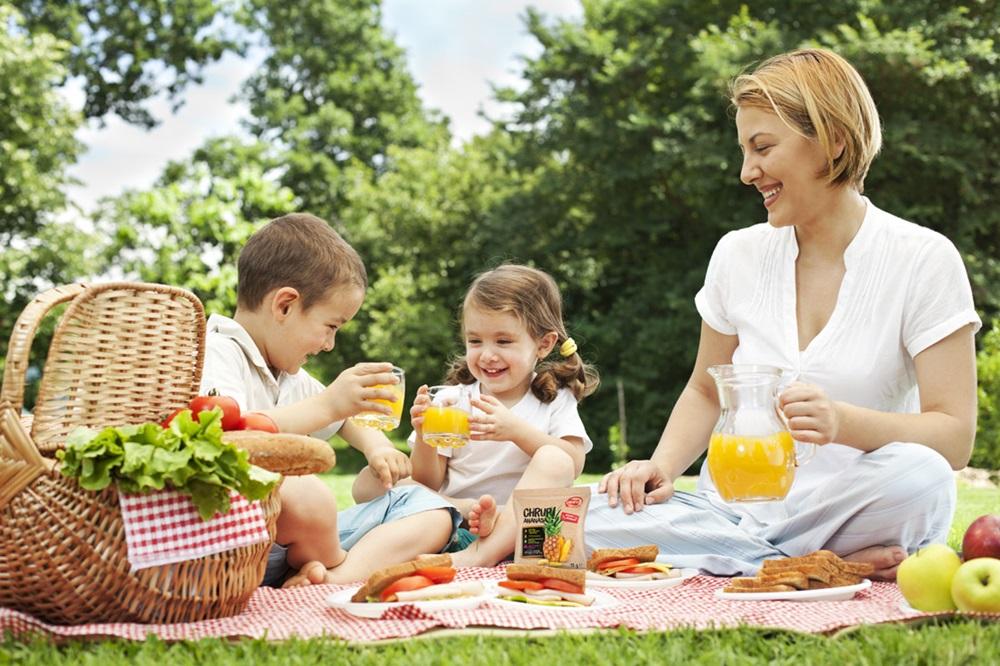 Пикник - и вкусно, и весело, и увлекательно
