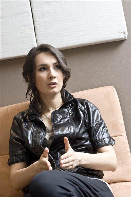 Солистка группы Крихітка Саша Кольцова
