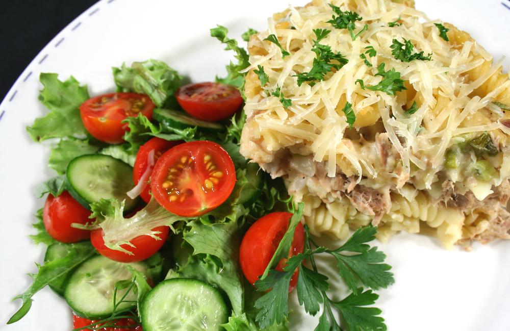 рецепты салатов из макарон с фото