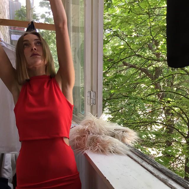 Ева Бушмина с новой стрижкой