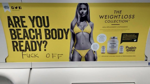 Британцы выступили против рекламы о похудении к лету
