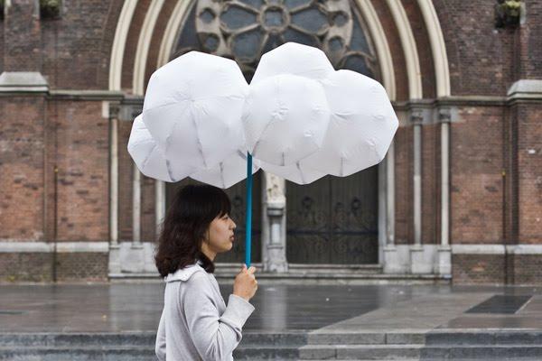 Зонт в виде облака