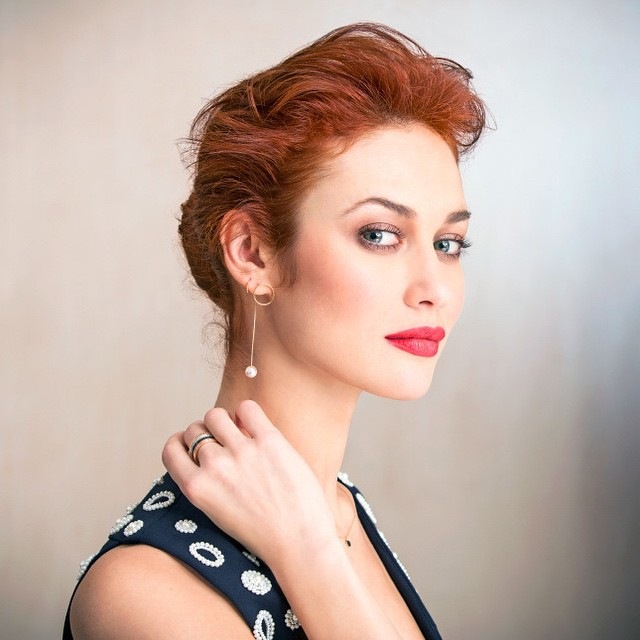 Ольга Куриленко с макияжем