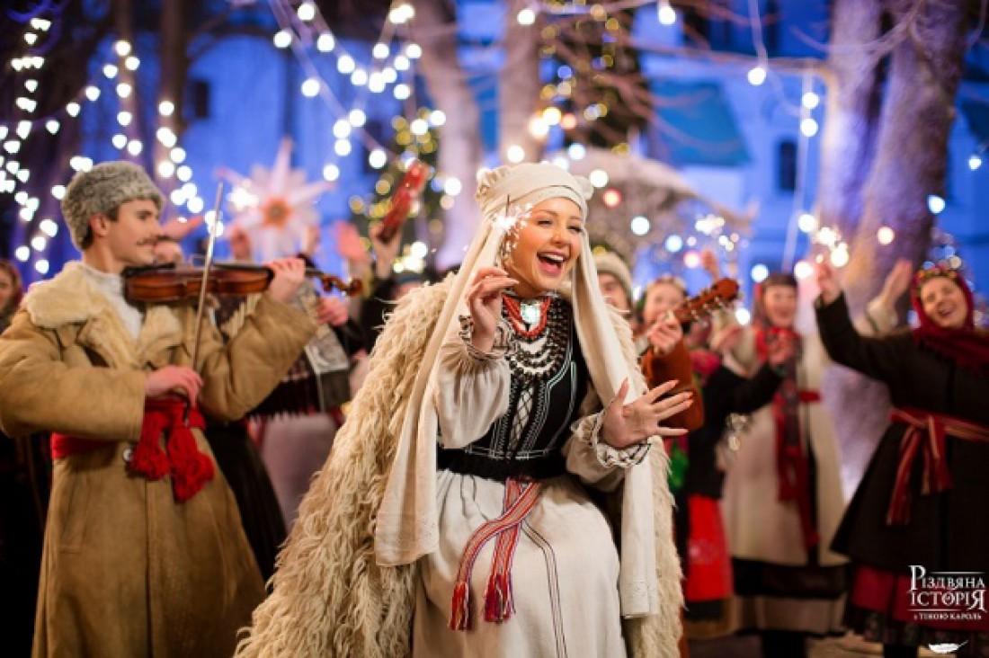 Тина Кароль в рождественском концерте