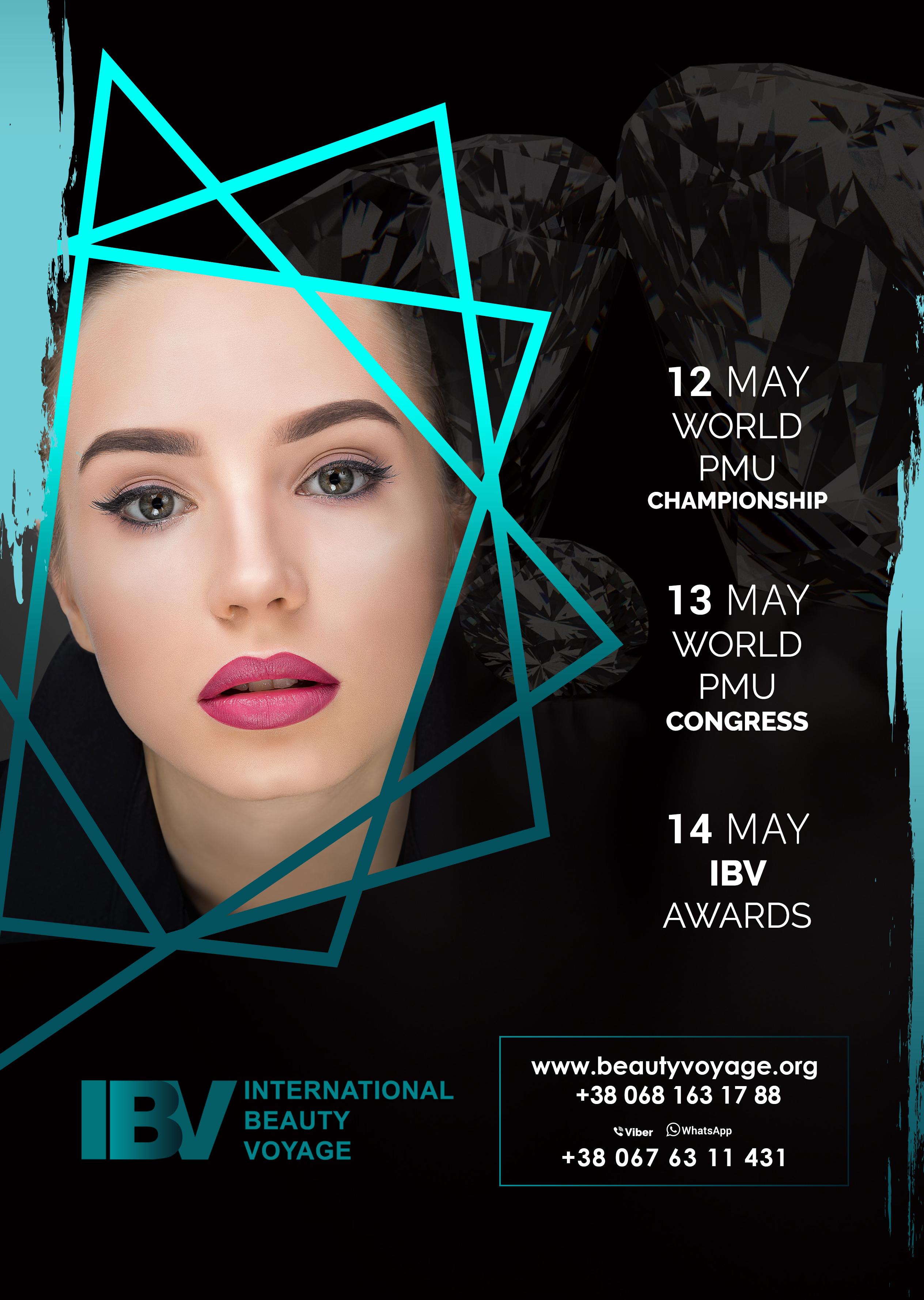 В Киеве пройдет чемпионат по созданию красоты - International Beauty Voyage