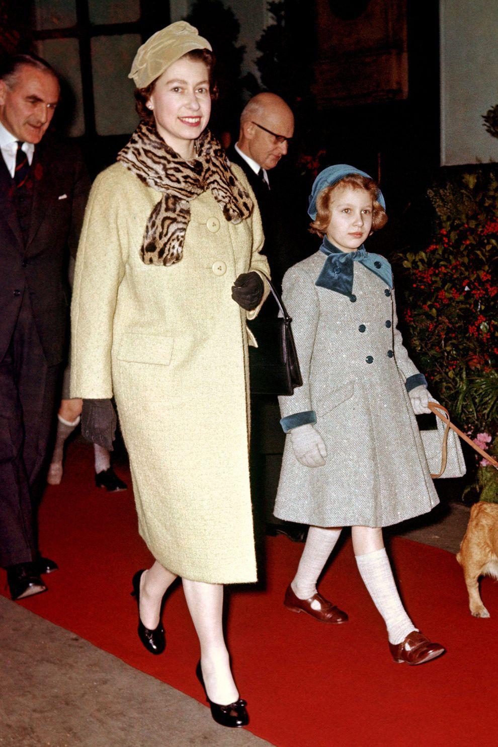 Принцесса Маргарет и леди Сара