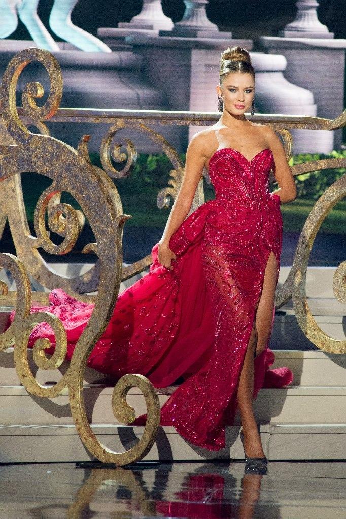 Диана Гаркуша представила Украину на конкурсе Мисс Вселенная 2014