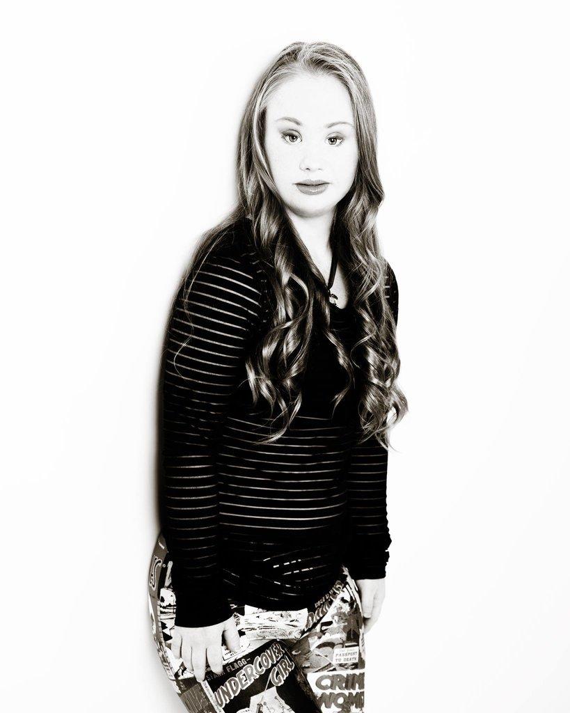18-летняя Мэдди Стюарт мечтает о том, чтобы на людей с синдромом Дауна смотрели не с жалостью, а с уважением