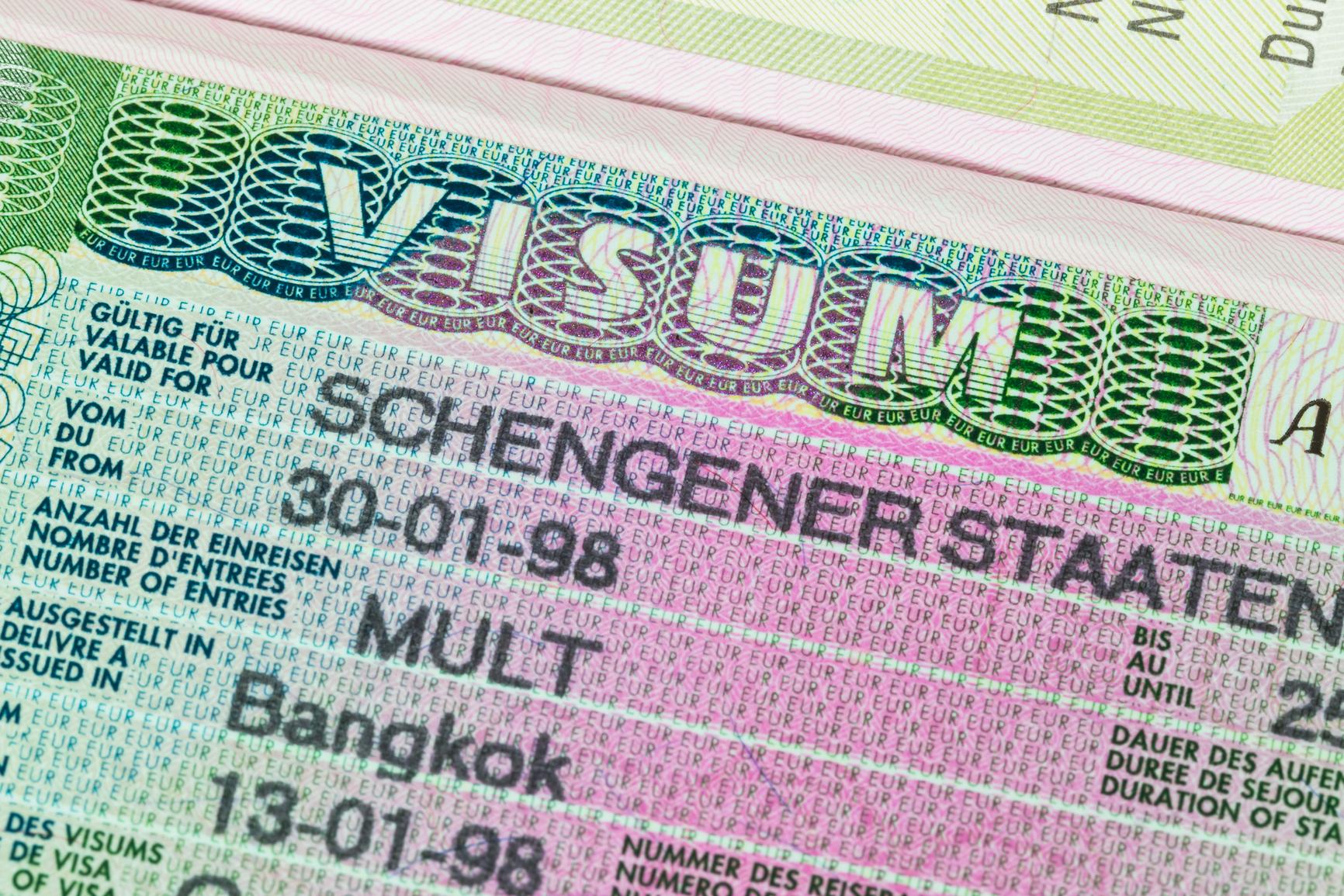 Как сделать шенгенскую визу через интернет