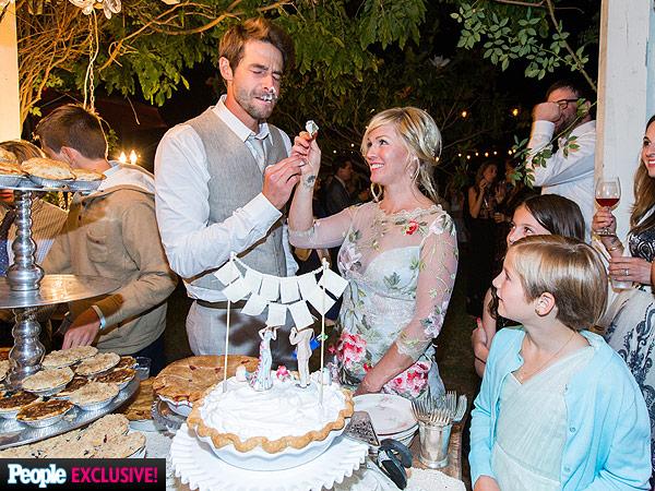 Свадебный торт Дженни Гарт и Дэвид Абрамс