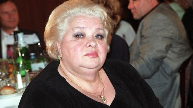 Российская актриса Наталья Крачковская