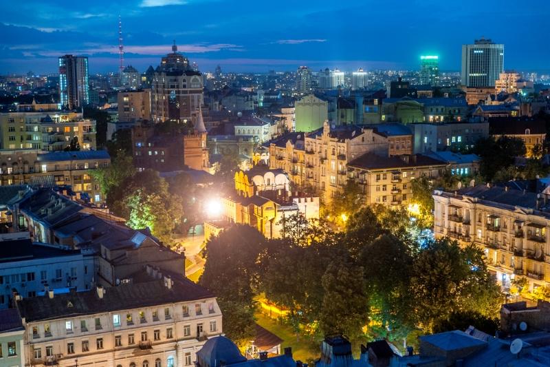 Киев с высоты: экскурсия на крышу Gulliver