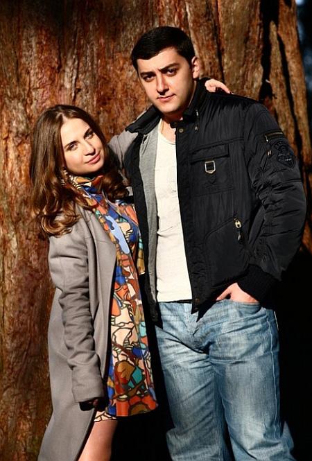 Анжелика Коломойская и Олег Бакоев