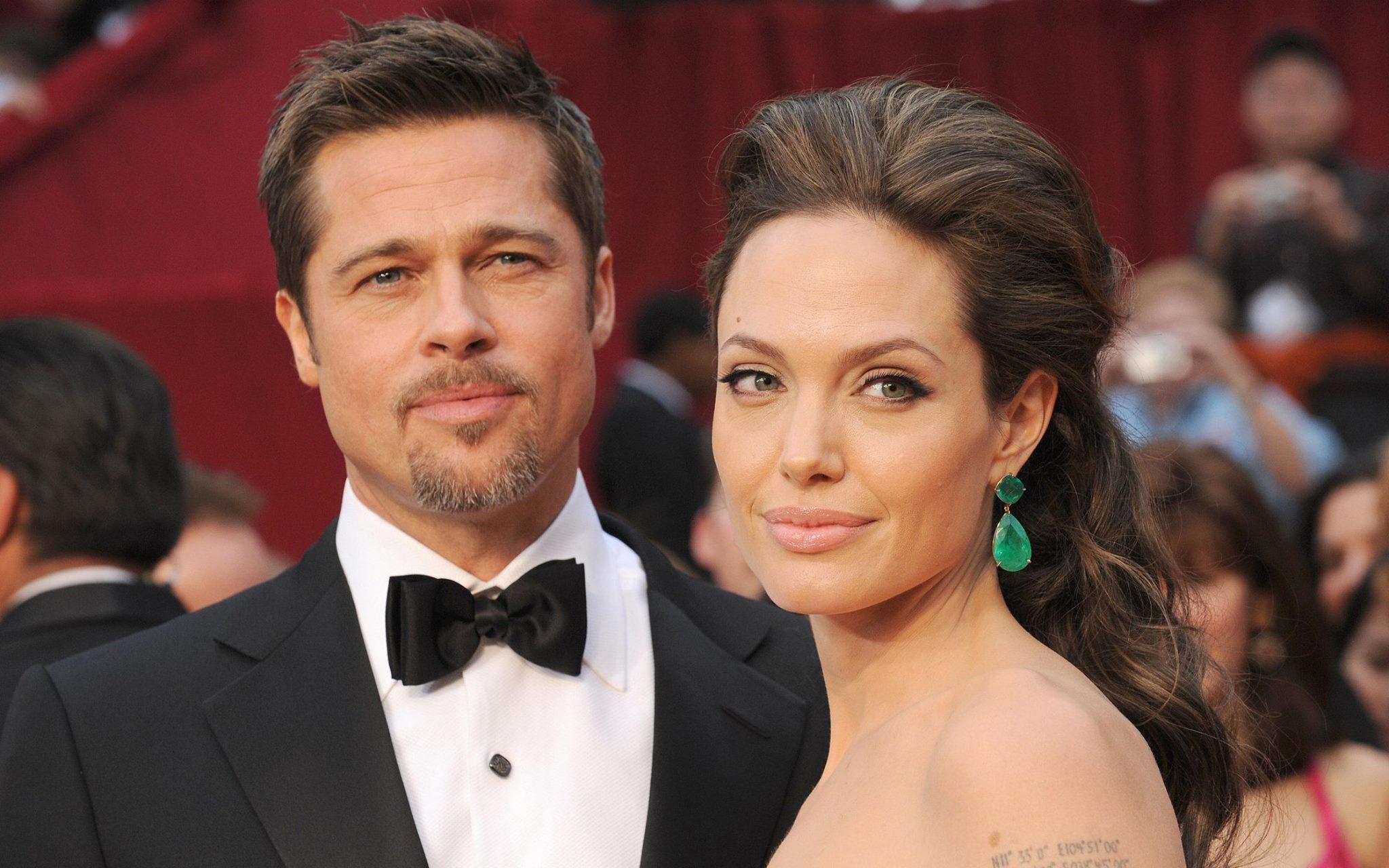 Анжелина Джоли с Брэдом Питтом
