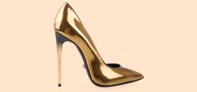 Туфли на современной шпильке