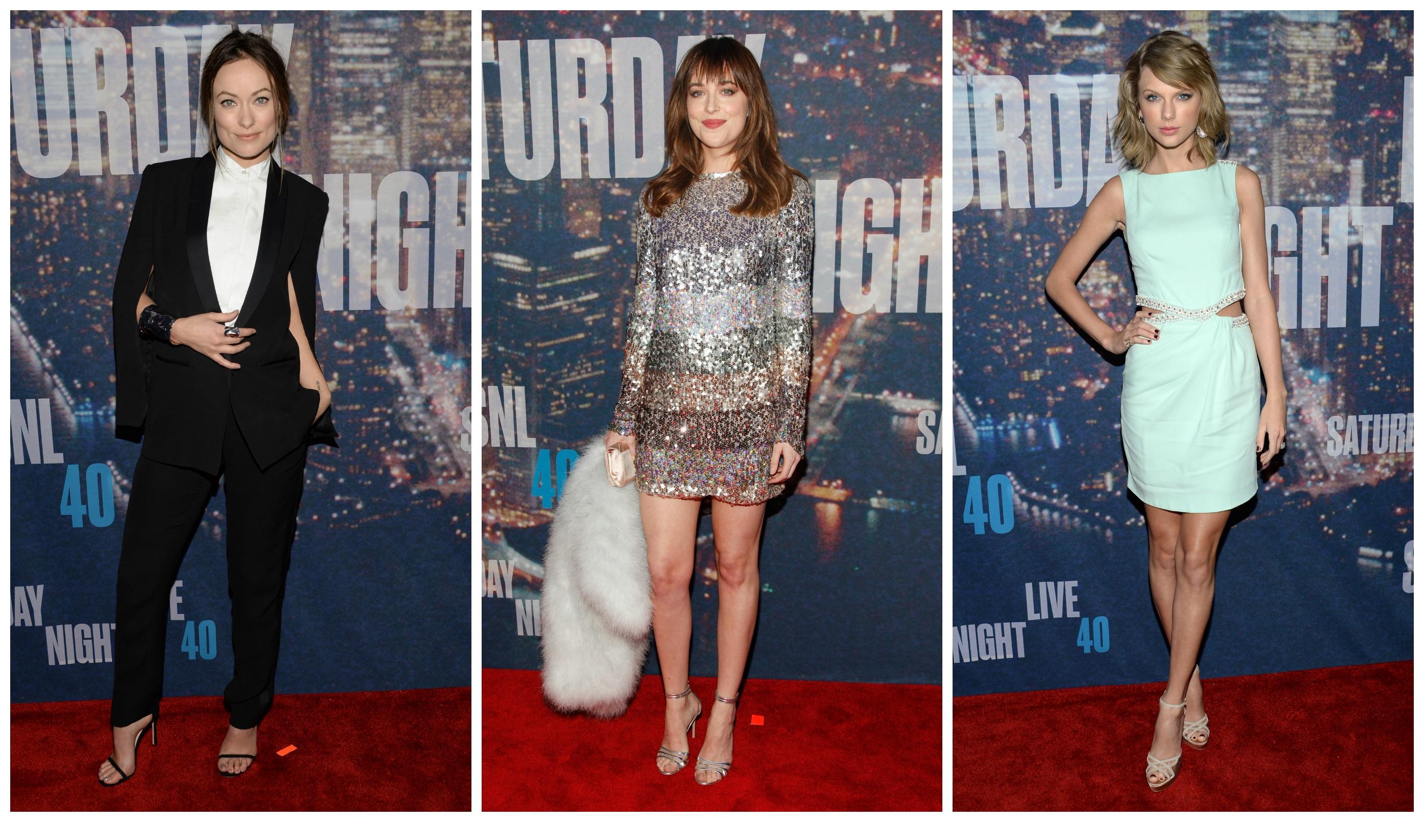На красной дорожке 40-й вечеринки шоу SNL собрались самые яркие модницы